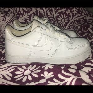Women's White Nike Air Force 1s